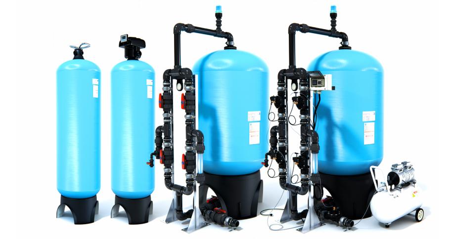 Filtros de agua industriales