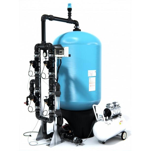 Filtro desferrizador para eliminar hierro y manganeso válvulas automáticas