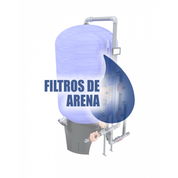 Información técnica filtros de arena
