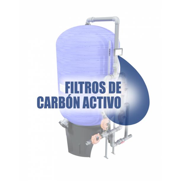 Información técnica filtros de carbón activo