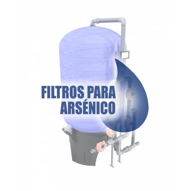 Información técnica filtros para eliminar arsénico
