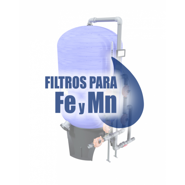 Información técnica filtros para eliminar hierro y manganeso