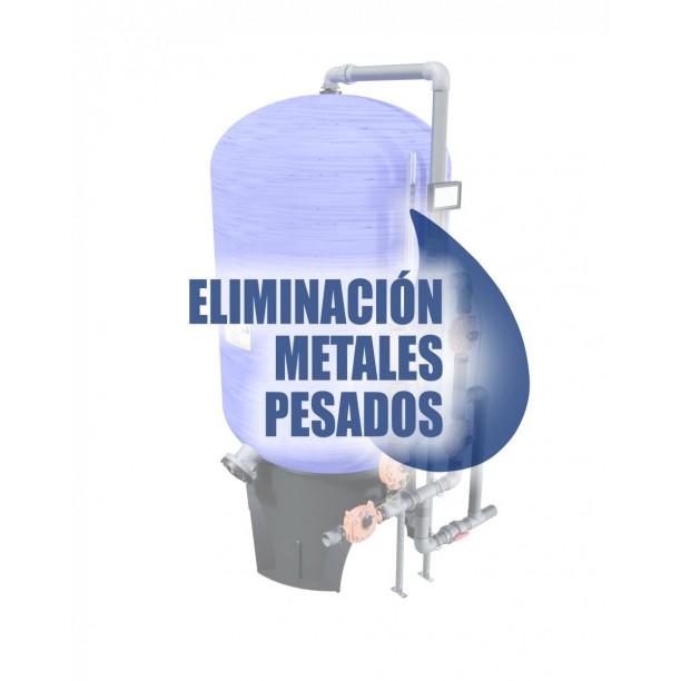Información técnica filtros para eliminar metales pesados del agua