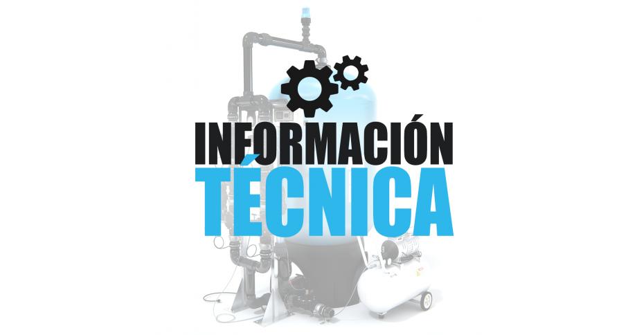 Información técnica filtros IMA water