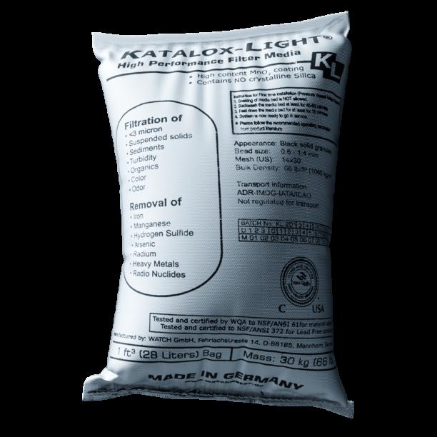 Medio filtrante sacos 30 kg lecho filtrante para eliminar hierro y manganeso