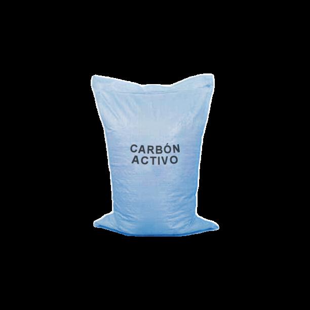 Medio filtrante sacos 25 Kg Carbón activo granular