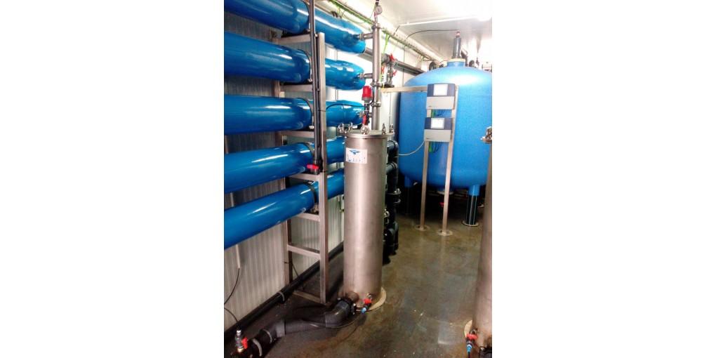 Plantas de ósmosis para procesos industriales